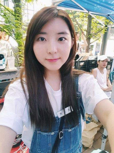 "fuckyeahsohyun: "" 160731 Sohyun at Back To The Market   cherylk0520 """