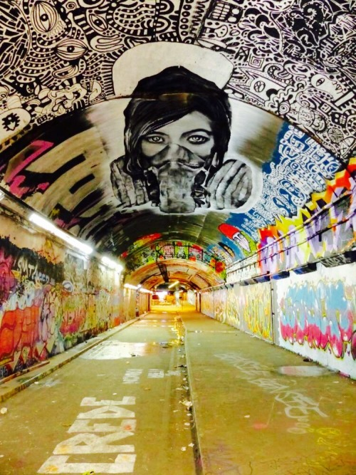 soupmagazine:  London - Leake Street Tunnel