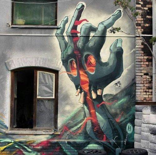 barbarapicci:  (via Streetart News [wall 418] - Fat Heat (Ungheria) a Budapest)
