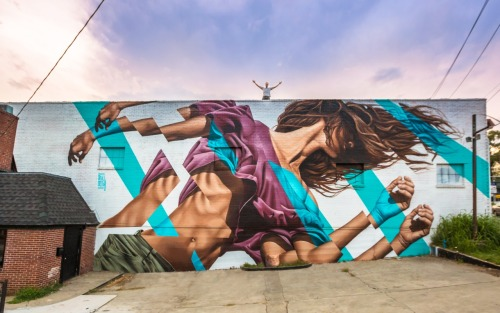 bizarrebeyondbelief:  Stunning new work by James Bullough in Atlanta for the Outer Space ProjectMore here: http://wp.me/p2dpFM-3W5