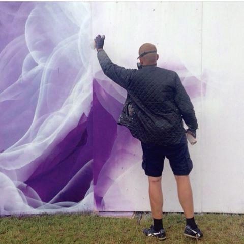 fiftyshadesofspray:  Loving this bit of purple Via @storm_ha 📷 by @dais_mikkelmoller #fsos #roskildefestival #graff #graffiti #purple #instagraffiti #graffitiart #design #texture #pattern #graffitiigers #street #ironlak #spray #streetart #published #handmade #zine #zines