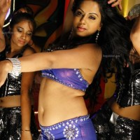 Telugu actress dancing Indian movie