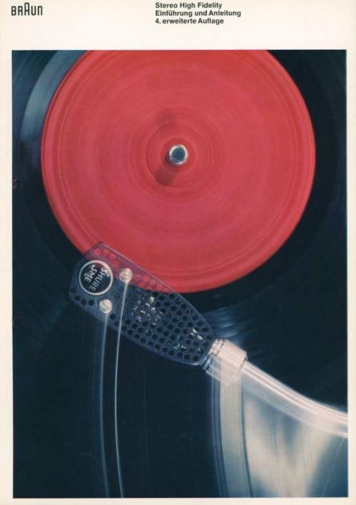 design-is-fine:Braun Brevier, Stereo High Fidelity brochure, 1965. Graphic design Wolfgang Schmittel. Via hifimuseum.de