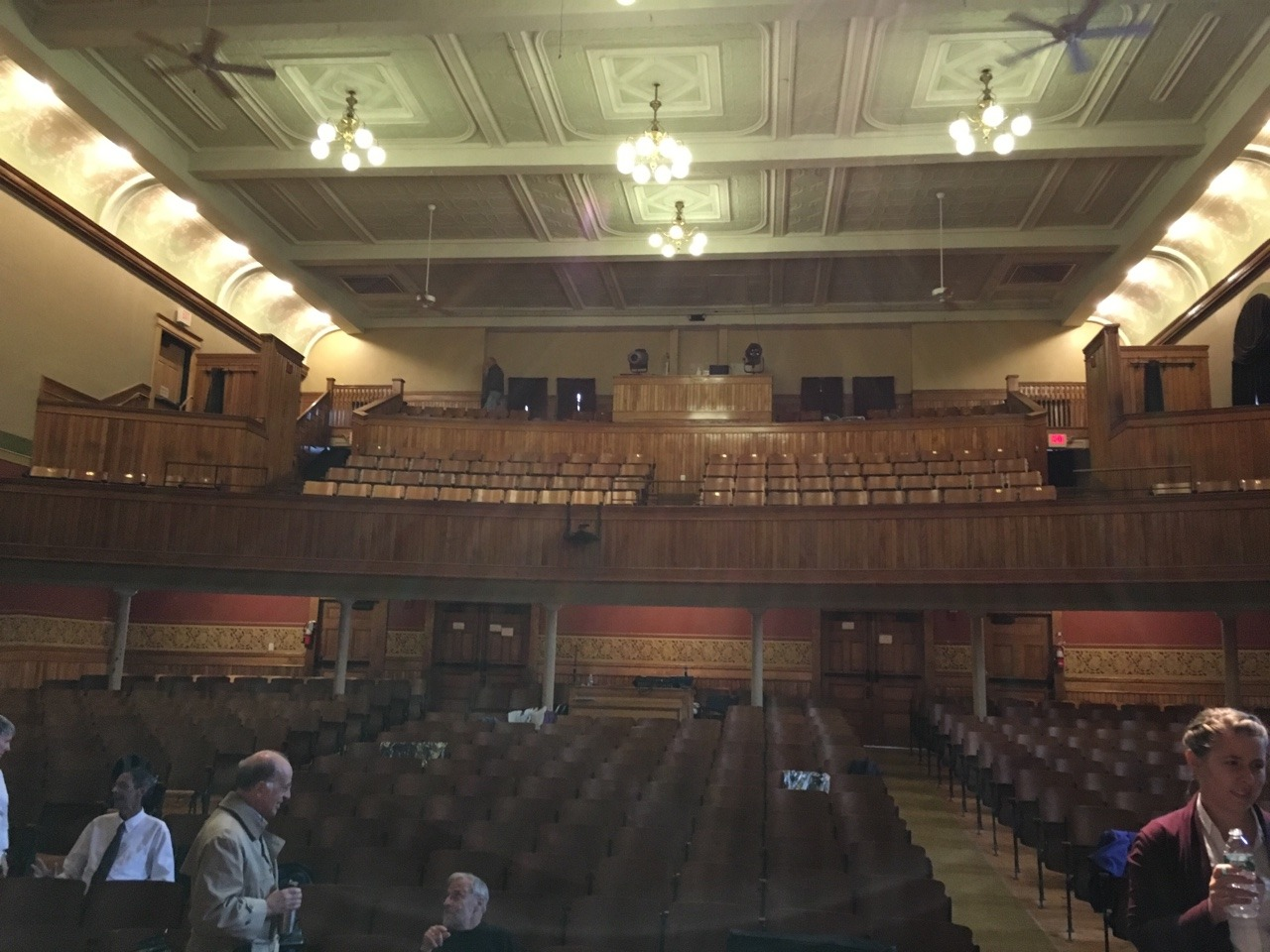 Beautiful Chandler Music Hall in Randolph, VT!