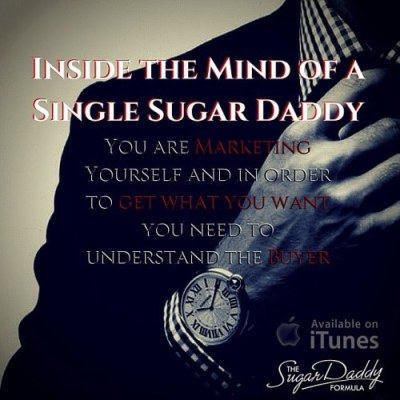 In order to get what you want you need to... - The Formula for Sugar Daddy Dating
