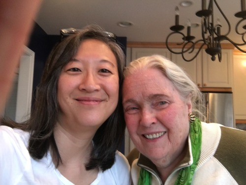 Got to enjoy some cookies and conversation with Dorothy Kitchen, my first violin teacher, at her house where I took lessons over 30 years ago!
