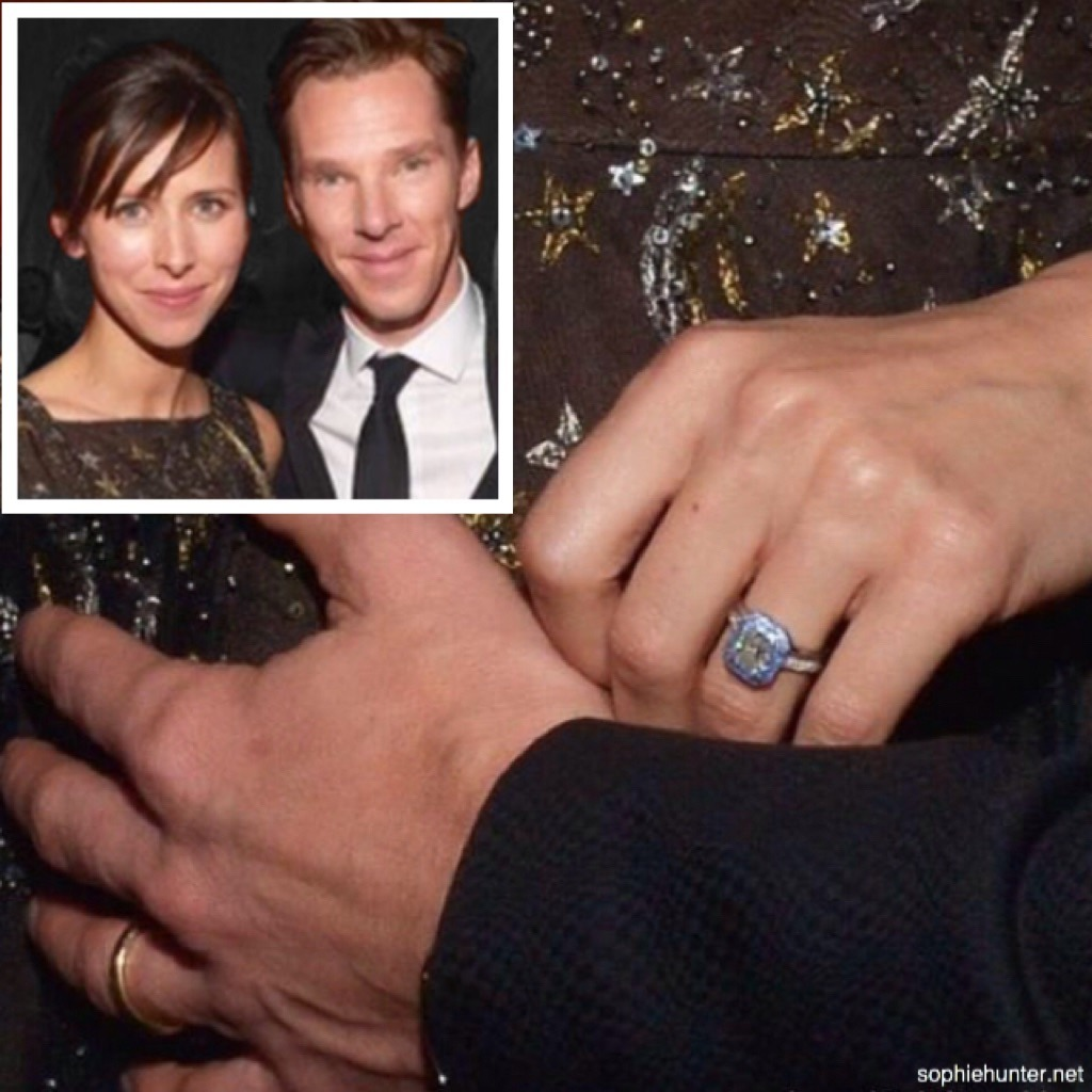 sophie hunter in tiffany co engagement ring hunting wedding bands Sophie Hunter in TIFFANY CO Engagement Ring