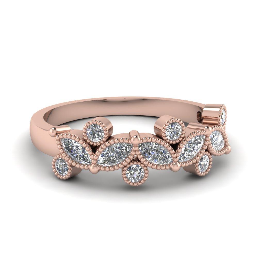 top 10 womens wedding rings womens diamond wedding band Inset Diamond Wedding Ring in White Gold 3mm