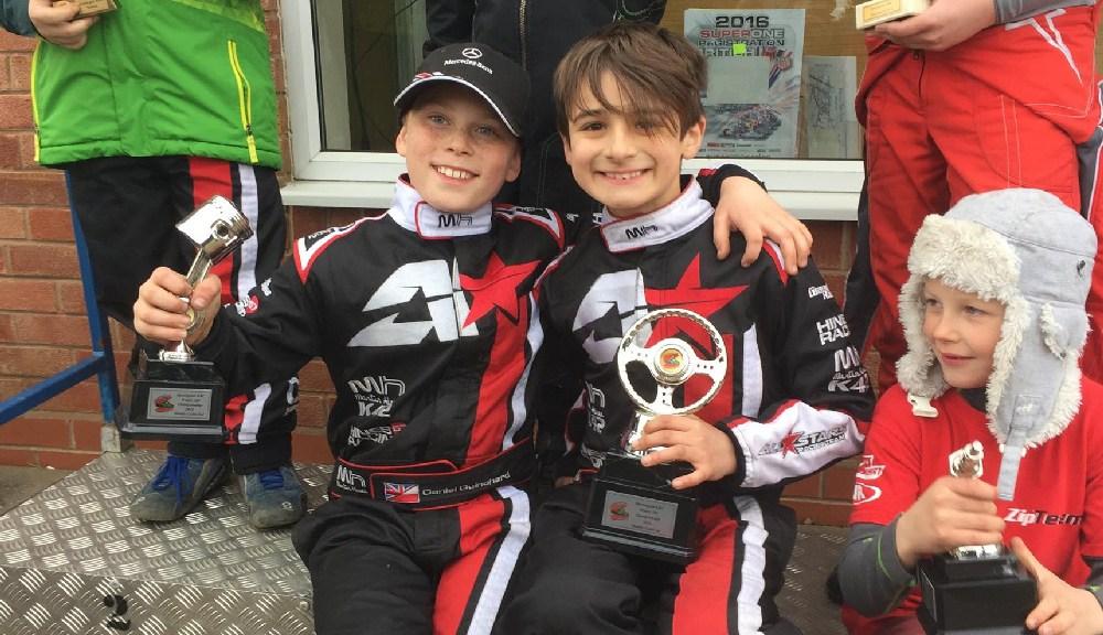 Shenington Honda Cadet Winter Champion 2016!