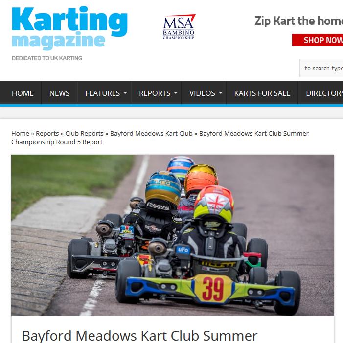 Bayford Meadows race report