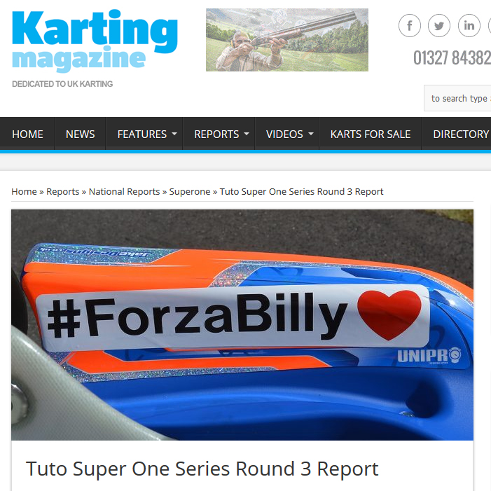 Tuto Super One Series Round 3 Report