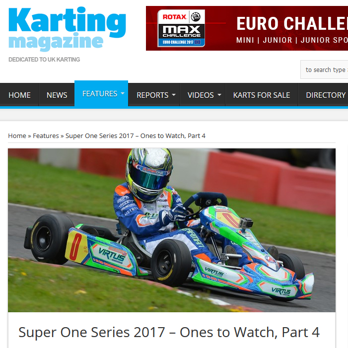 Super One Series 2017 – Ones to Watch, Part 4