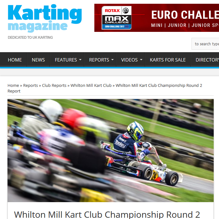 Whilton Mill Kart Club Championship Round 2 Report