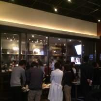 伏見オシャレカフェで立食パーティー1