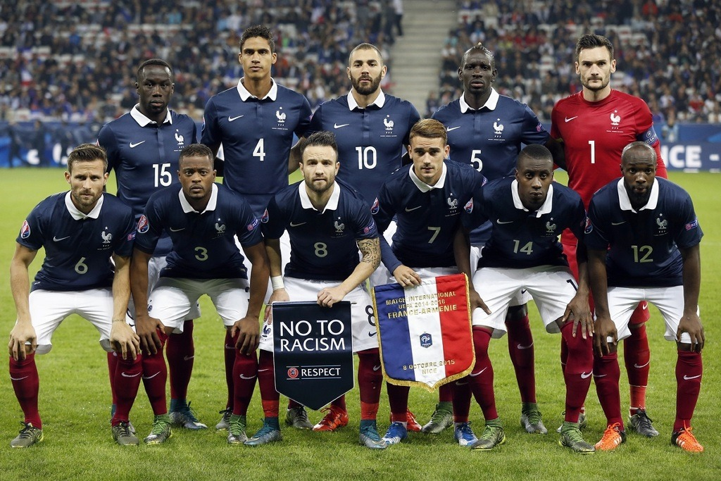 Football Friendly Internationals team photos     France national     France national football team