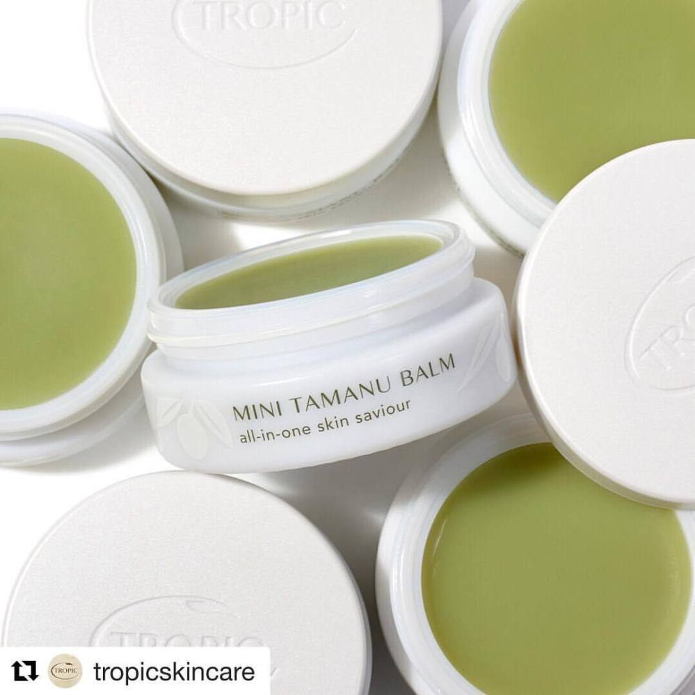 Our fav facial products book your facial now #Repost @tropicskincare with @get_repost ・・・ Tamanu Healing Balm is one of our hero products with good reason 💚This all-in-one skin saviour is freshly made with Polynesian tamanu oil (traditionally known as 'green gold'), which gives this balm its unique abilities
