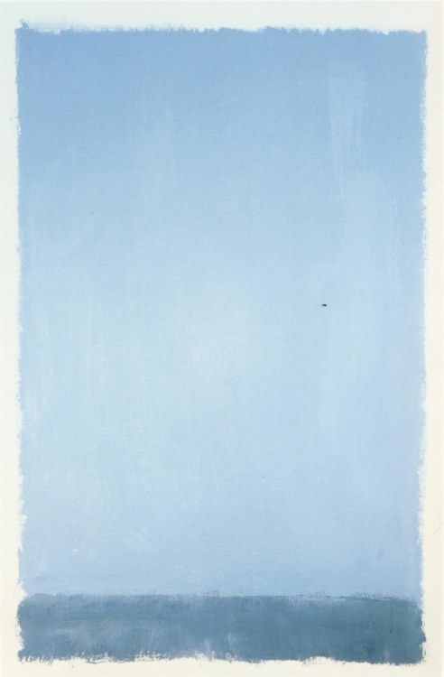"stylerain:""Untitled"", 1969, Mark Rothko."