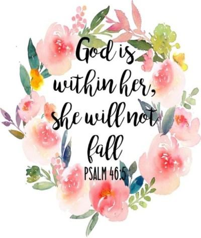 psalms 46 5 | Tumblr