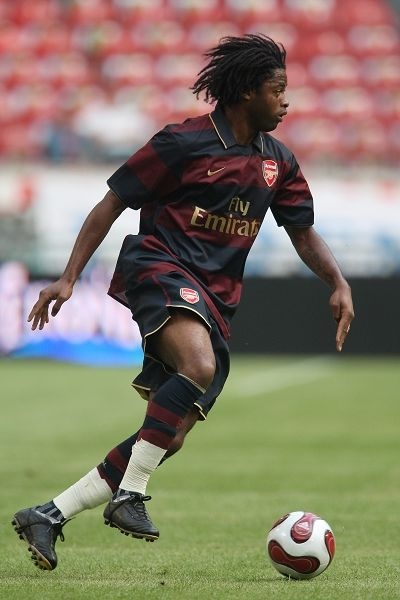 Alex Song in last year's pre-season tournament