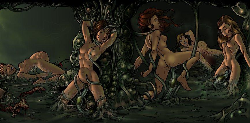 unwanted impregnation cum inside hentai