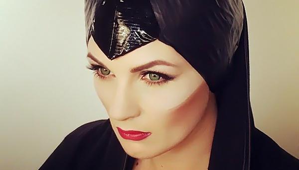 Maleficent-makeup