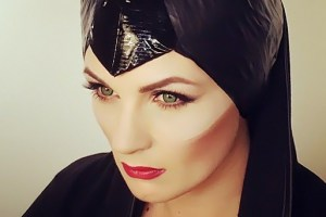 Maleficent-makeup