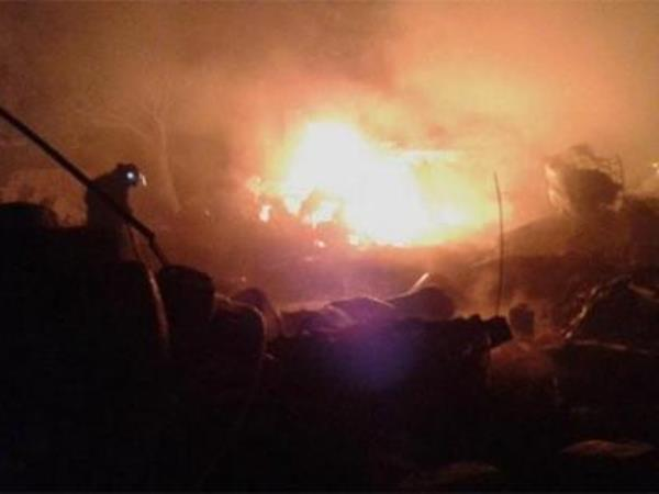 Несколько мощных взрывов произошло на Болгарском военном заводе