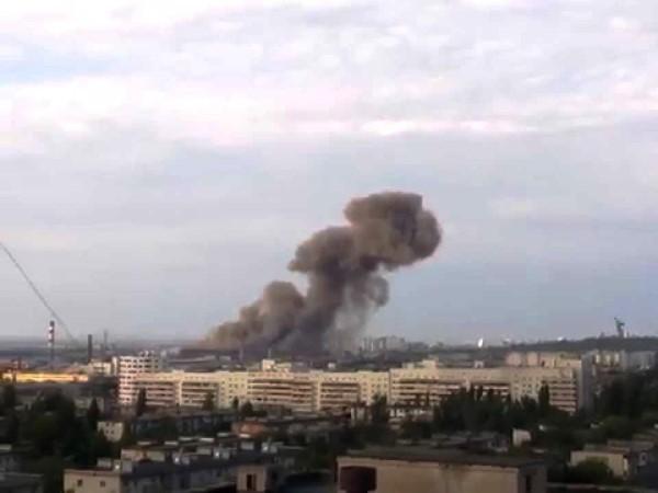 Пожар на свалке бытовых отходов в Волгограде может грозить экологической катастрофой