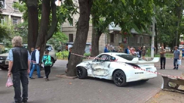 В Одессе произошло столкновение нескольких автомобилей, из-за которого образовался затор по проспекту Шевченко