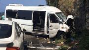 В Абхазии автобус с российскими туристами попал в страшное ДТП