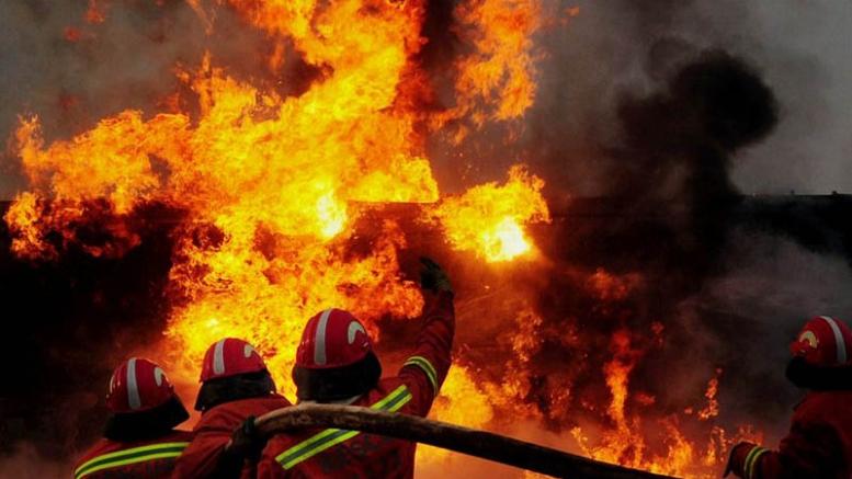 В Китае произошел взрыв на заводе военной отрасли