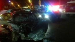 В Рязани маршрутка столкнулась с автомобилем Лада, в результате 7 человек получили травмы