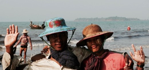 asien fischer strand myanmar