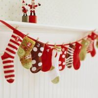 {Pinterest Pins} Advent Calendar Ideas - Christmas Crafts