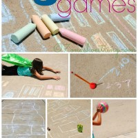 5 Sidewalk Chalk Games to Keep You Playful #GoGoPlayfully