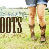 Tips for Wearing Boots with Shorts: Country Outfitter
