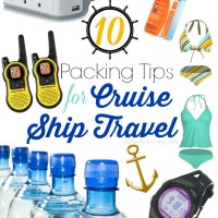 10 Packing Tips for Cruise Ship Travel