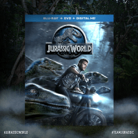 Jurassic World Stomp and Strike Tyrannosaurus Rex Figure + Digital HD Movie Giveaway