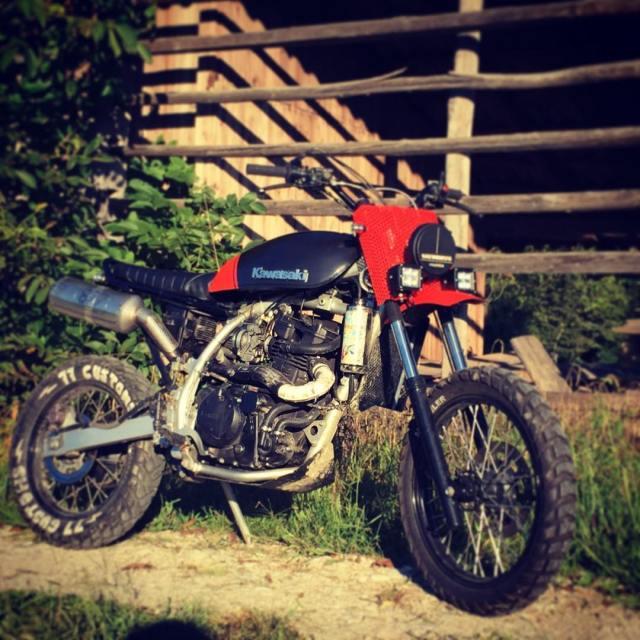 1987 kawasaki 650 monster scrambler 4sale custom motorcycles 77c 7sevencustomshellip