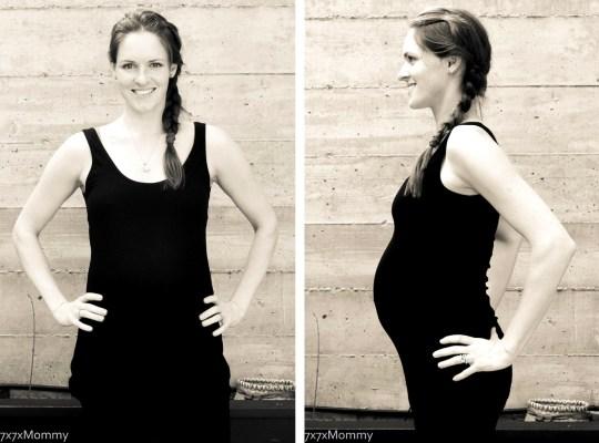 Week 28 Photo Series_Third Pregnancy