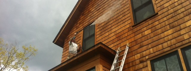 Topcoat House Washing in Chittenden County
