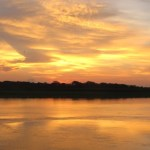 Another amazing sunset on the Amazon.