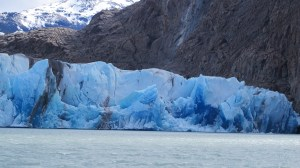 El Chalten, Argentina. Half a world away from Iceland, but they're both losing their glaciers.