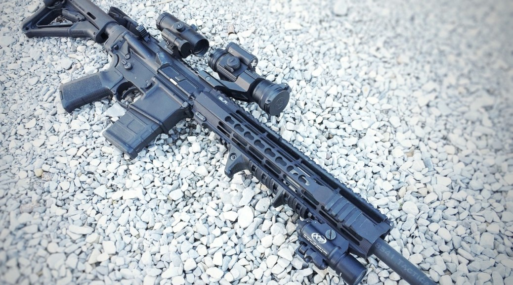 Rock River AR15 with SLR Rifleworks Solo Handguard, Vortex Optics and Surefire X-400