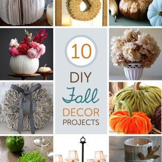10 Fabulous DIY Fall Decor Projects 86lemons.com
