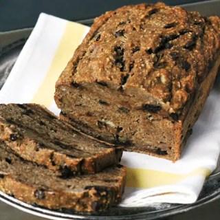 Vegan, Gluten-Free Banana Bread  86lemons.com