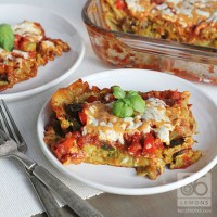 Vegan Lasagna with Lemon-Basil Cashew Cheeze