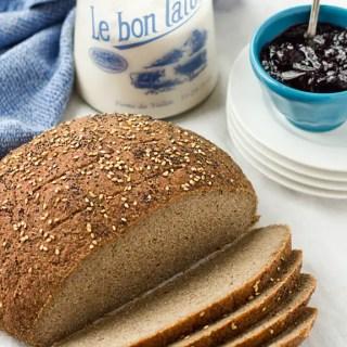 Gluten-Free, Vegan Bread that DOESN'T SUCK!!! 86lemons.com
