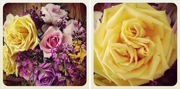 #anniversary #flowers #roses #triplebud  86lemons.com