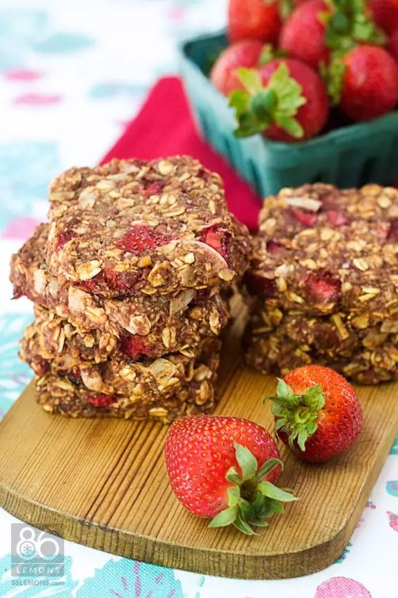 delicious, healthy, hearty #breakfast #cookies  (#vegan, #glutenfree)